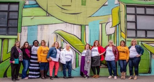 Katie, Michelle, Monica, Laura S., Laura M, Jennifer